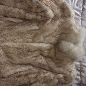 Beautiful Rabbit Fur Coat